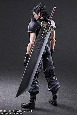Einfach und sicher online bestellen: Final Fantasy VII Actionfigur Zack in Österreich kaufen.