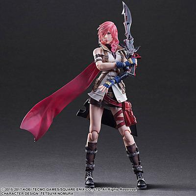 Einfach und sicher online bestellen: Dissidia Final Fantasy Action Figur Lightning in Österreich kaufen.