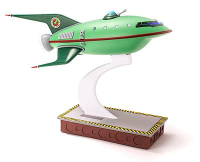 Einfach und sicher online bestellen: Futurama Master Planet Express Raumschiff in Österreich kaufen.