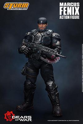 Einfach und sicher online bestellen: Gears of War 5 Actionfigur 1/12 Marcus Fenix in Österreich kaufen.