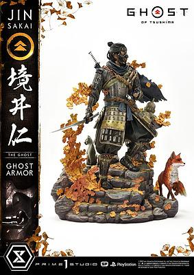 Einfach und sicher online bestellen: Ghost of Tsushima Statue 1/4 Jin Sakai in Österreich kaufen.
