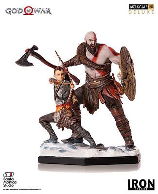 Einfach und sicher online bestellen: God of War Statue Kratos & Atreus in Österreich kaufen.