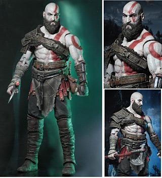 Einfach und sicher online bestellen: God of War Action Figur Kratos 45cm in Österreich kaufen.