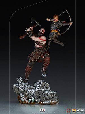 Einfach und sicher online bestellen: God of War Statue 1/10 Kratos & Atreus in Österreich kaufen.