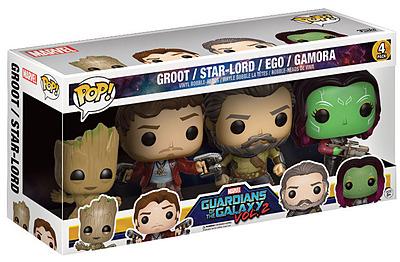 Einfach und sicher online bestellen: Guardians of the Galaxy 2 POP! Figuren 4er-Pack II in Österreich kaufen.