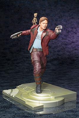 Einfach und sicher online bestellen: Guardians of the Galaxy 2 Statue Star Lord in Österreich kaufen.