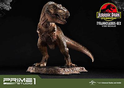 Einfach und sicher online bestellen: Jurassic Park Statue 1/38 Tyranosaurus-Rex in Österreich kaufen.