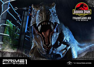 Einfach und sicher online bestellen: Jurassic Park Statue Tyrannosaurus-Rex in Österreich kaufen.