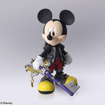 Einfach und sicher online bestellen: Kingdom Hearts Actionfigur König Micky in Österreich kaufen.