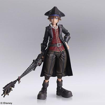 Einfach und sicher online bestellen: Kingdom Hearts 3 Actionfigur Sora Pirates in Österreich kaufen.