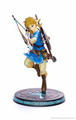Einfach und sicher online bestellen: The Legend of Zelda Breath of the Wild Statue Link in Österreich kaufen.