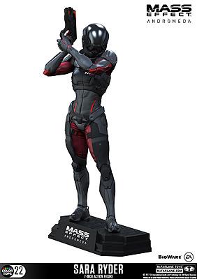 Einfach und sicher online bestellen: Mass Effect Andromeda Actionfigur Sara Ryder in Österreich kaufen.