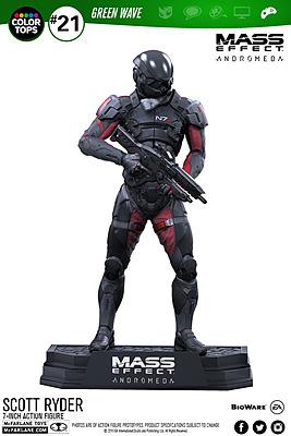 Einfach und sicher online bestellen: Mass Effect Andromeda Actionfigur Scott Ryder in Österreich kaufen.