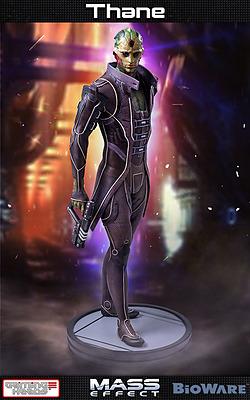 Einfach und sicher online bestellen: Mass Effect 3 Statue Thane 1/4 in Österreich kaufen.