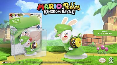 Einfach und sicher online bestellen: Mario + Rabbids Kingdom Battle Figur Luigi 8cm in Österreich kaufen.