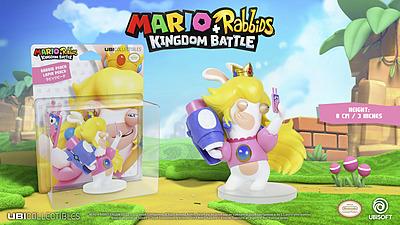 Einfach und sicher online bestellen: Mario + Rabbids Kingdom Battle Figur Peach 8cm in Österreich kaufen.
