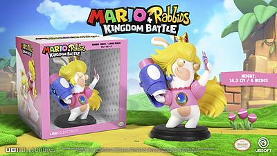 Einfach und sicher online bestellen: Mario + Rabbids Kingdom Battle Figur Rabbid Peach in Österreich kaufen.
