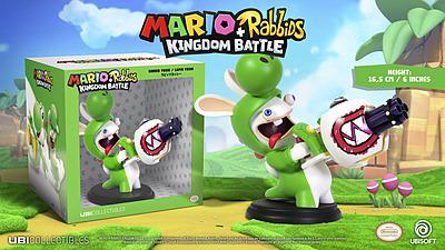 Einfach und sicher online bestellen: Mario + Rabbids Kingdom Battle Figur Rabbid Yoshi in Österreich kaufen.