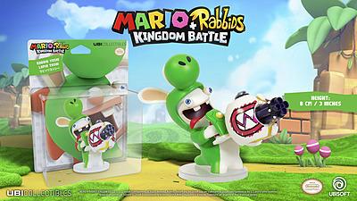 Einfach und sicher online bestellen: Mario + Rabbids Kingdom Battle Figur Yoshi 8cm in Österreich kaufen.