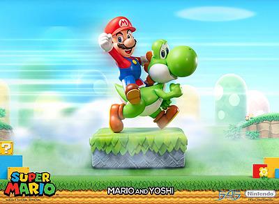 Einfach und sicher online bestellen: Super Mario Statue Mario & Yoshi in Österreich kaufen.