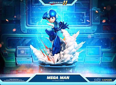 Einfach und sicher online bestellen: Mega Man 11 Statue 1/4 Mega Man in Österreich kaufen.