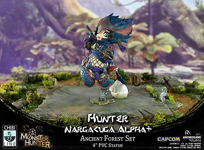 Einfach und sicher online bestellen: Monster Hunter PVC Statue Nargacuga Alpha+ in Österreich kaufen.