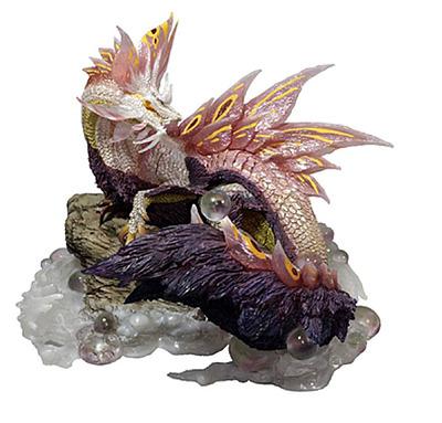 Einfach und sicher online bestellen: Monster Hunter PVC Statue Wyvern Mizutsune in Österreich kaufen.