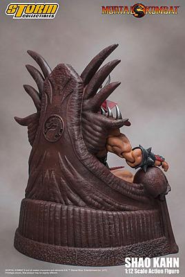 Einfach und sicher online bestellen: Mortal Kombat Actionfigur Shao Kahn 20 cm in Österreich kaufen.