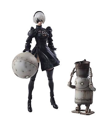 Einfach und sicher online bestellen: NieR Automata Actionfiguren 2B & Maschine Lifeform in Österreich kaufen.