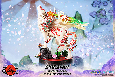 Einfach und sicher online bestellen: Okami Statue Shinranui (Celestial Howl) in Österreich kaufen.