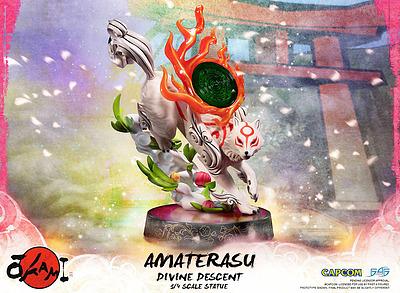 Einfach und sicher online bestellen: Okami Statue Amaterasu 1/4 Divine Descent in Österreich kaufen.