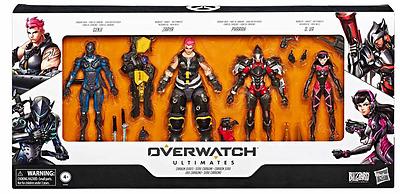 Einfach und sicher online bestellen: Overwatch Actionfiguren 4er-Pack Carbon Fiber in Österreich kaufen.