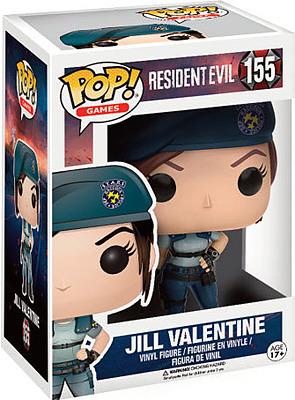 Einfach und sicher online bestellen: Resident Evil POP! Vinyl Figur Jill Valentine in Österreich kaufen.