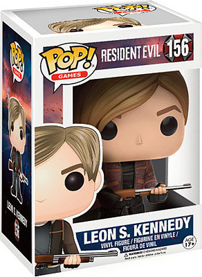 Einfach und sicher online bestellen: Resident Evil POP! Vinyl Figur Leon S. Kennedy in Österreich kaufen.