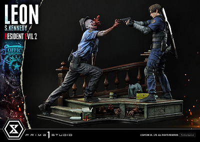 Einfach und sicher online bestellen: Resident Evil 2 Statue Leon S. Kennedy in Österreich kaufen.