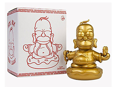 Einfach und sicher online bestellen: Simpsons Vinyl Figur Golden Buddha Homer in Österreich kaufen.