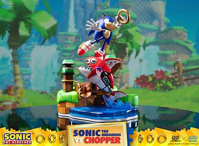 Einfach und sicher online bestellen: Sonic Generations Diorama Sonic vs. Chopper in Österreich kaufen.