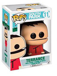 Einfach und sicher online bestellen: South Park POP! Vinyl Figur Terrance in Österreich kaufen.