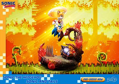 Einfach und sicher online bestellen: Sonic the Hedgehog Statue Sonic & Tails in Österreich kaufen.