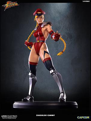 Einfach und sicher online bestellen: Street Fighter 4 Statue Shadaloo Cammy 1/4 in Österreich kaufen.
