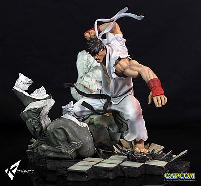 Einfach und sicher online bestellen: Street Fighter Battle of the Brother Diorama 1/6 in Österreich kaufen.