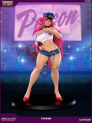 Einfach und sicher online bestellen: Street Fighter 4 Statue Poison 1/4 in Österreich kaufen.