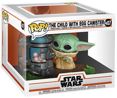 Einfach und sicher online bestellen: Star Wars POP! Child Mandalorian Canister Deluxe in Österreich kaufen.
