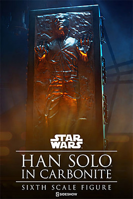 Einfach und sicher online bestellen: Star Wars Actionfigur Han Solo in Karbonit 1/6 in Österreich kaufen.