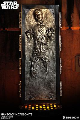 Einfach und sicher online bestellen: Star Wars Statue Han Solo in Karbonit Life-Size in Österreich kaufen.