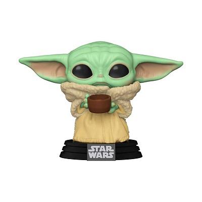 Einfach und sicher online bestellen: Star Wars POP! Mandalorian The Child with Cup in Österreich kaufen.