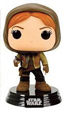 Einfach und sicher online bestellen: Star Wars Rogue One POP! Vinyl Figur Jyn Hooded in Österreich kaufen.