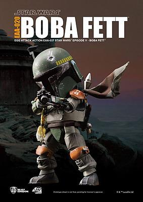Einfach und sicher online bestellen: Star Wars Egg Attack Actionfigur Boba Fett in Österreich kaufen.