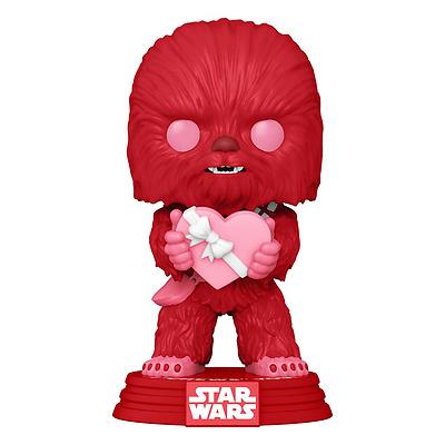 Einfach und sicher online bestellen: Star Wars POP! Vinyl Valentines Chewbacca in Österreich kaufen.