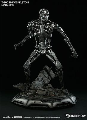 Einfach und sicher online bestellen: Terminator Maquette T-800 Endoskelett in Österreich kaufen.